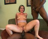 MILF sandwich with black rods