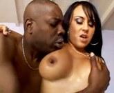 Hot Latina Marieh Milano ramned by black cock