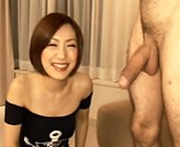 Cutie Asian babe Nene gets down and dirty