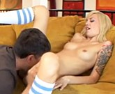 Emma Mae seducing by jerking