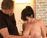 Big tit MILF RayVeness tugs out his stress