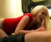 Tiffany Fox rides dick to a squirting orgasm