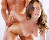 Nubile Films- Sensual masssage leads to cum