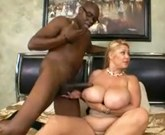 Big Titted Blonde Cuckolds Weak Hubby With BBC