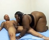 Huge black BBW pussy gets drilled